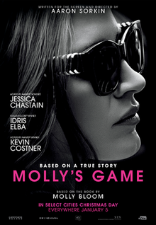 poster Molly's Game (2017)