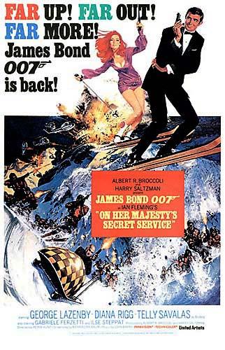poster On Her Majesty's Secret Service (1969)