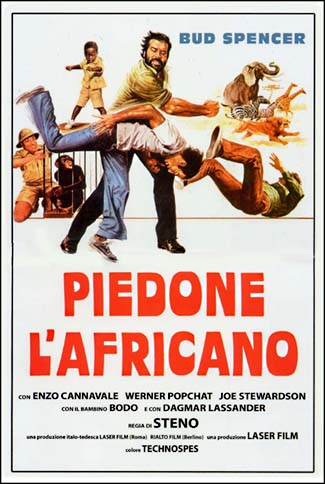 poster Piedone l africano (1978)