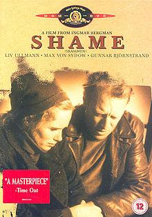 poster Skammen – Shame (1968)