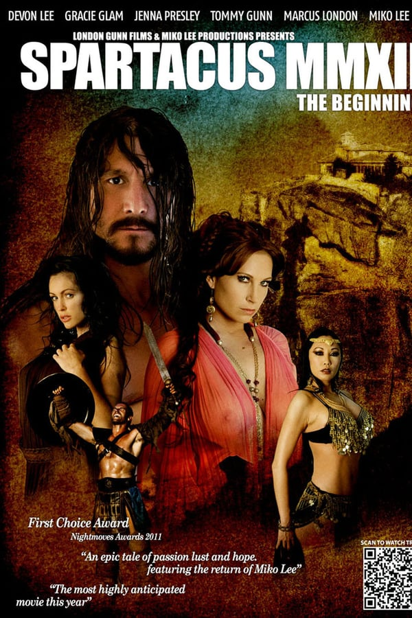 poster Spartacus MMXII The Beginning (Video 2012)