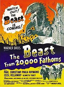 poster The Beast from 20,000 Fathoms (1953)
