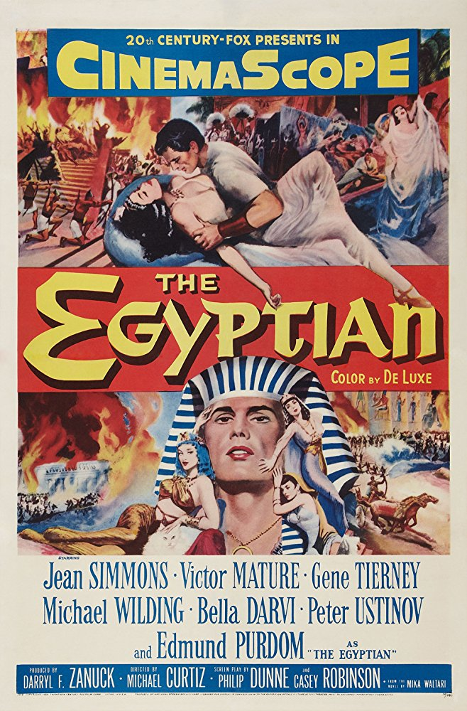 poster The Egyptian (1954)