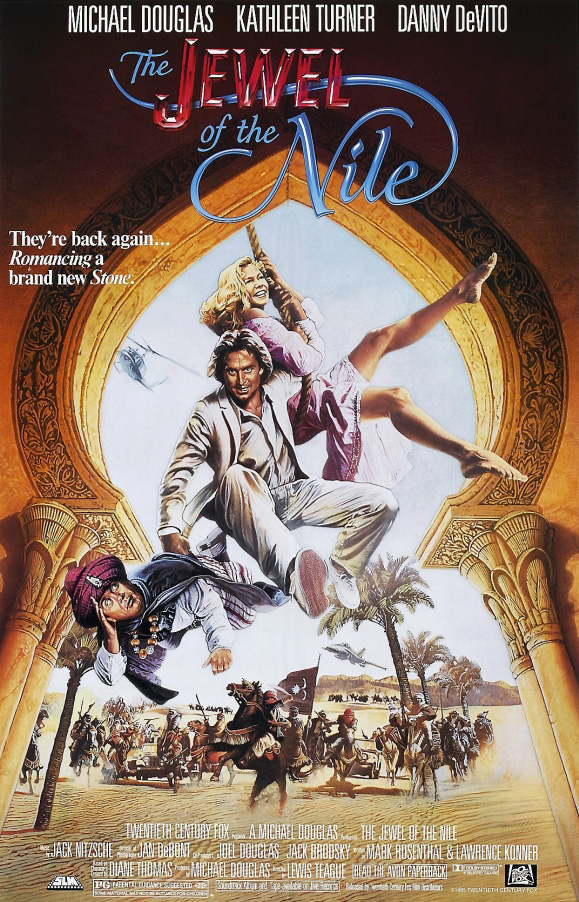 poster The Jewel of the Nile (1985)