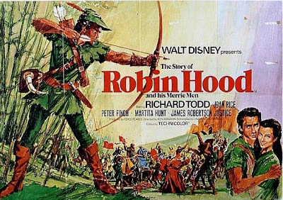 poster The Story of Robin Hood and His Merrie Men (1952)