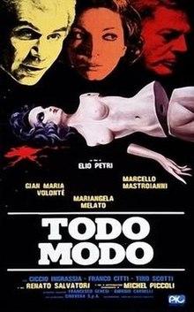 poster Todo Modo (1976)