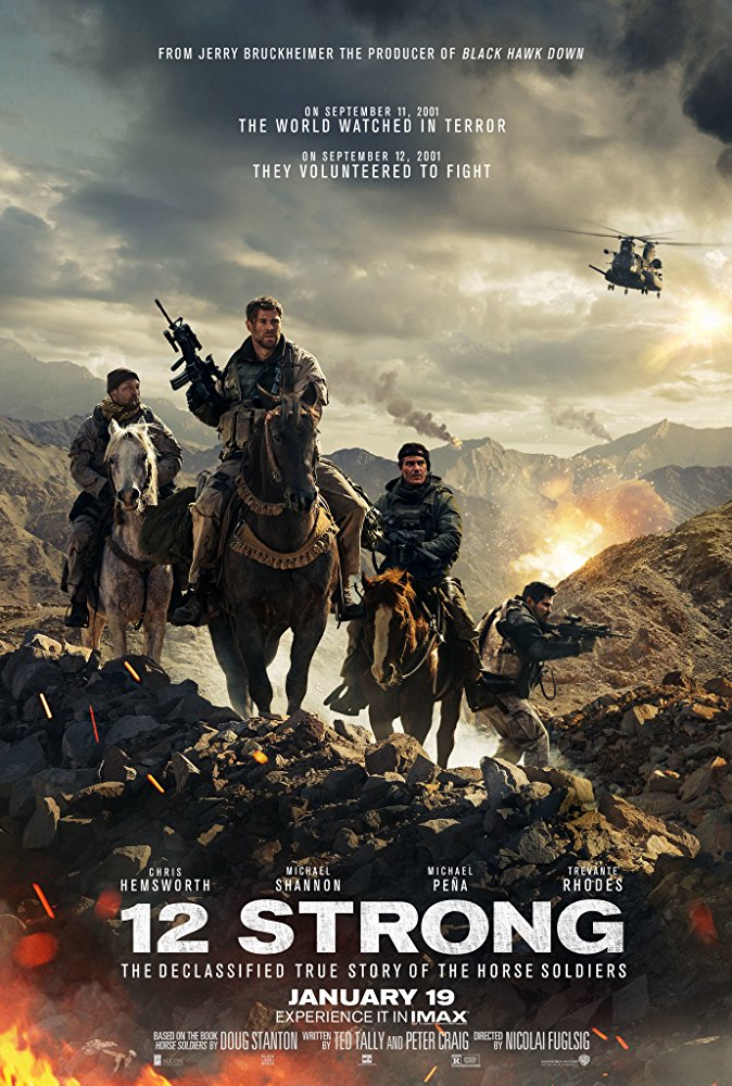 poster 12 Strong (2018)