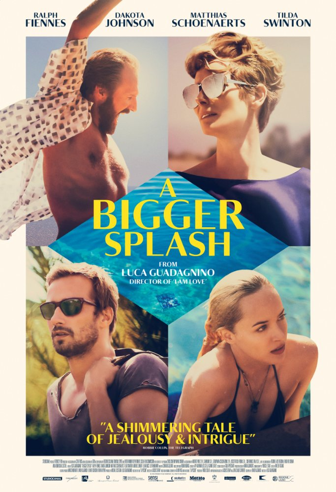 poster A Bigger Splash (2015)
