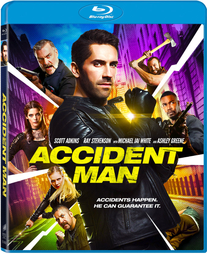 poster Accident Man (2018)