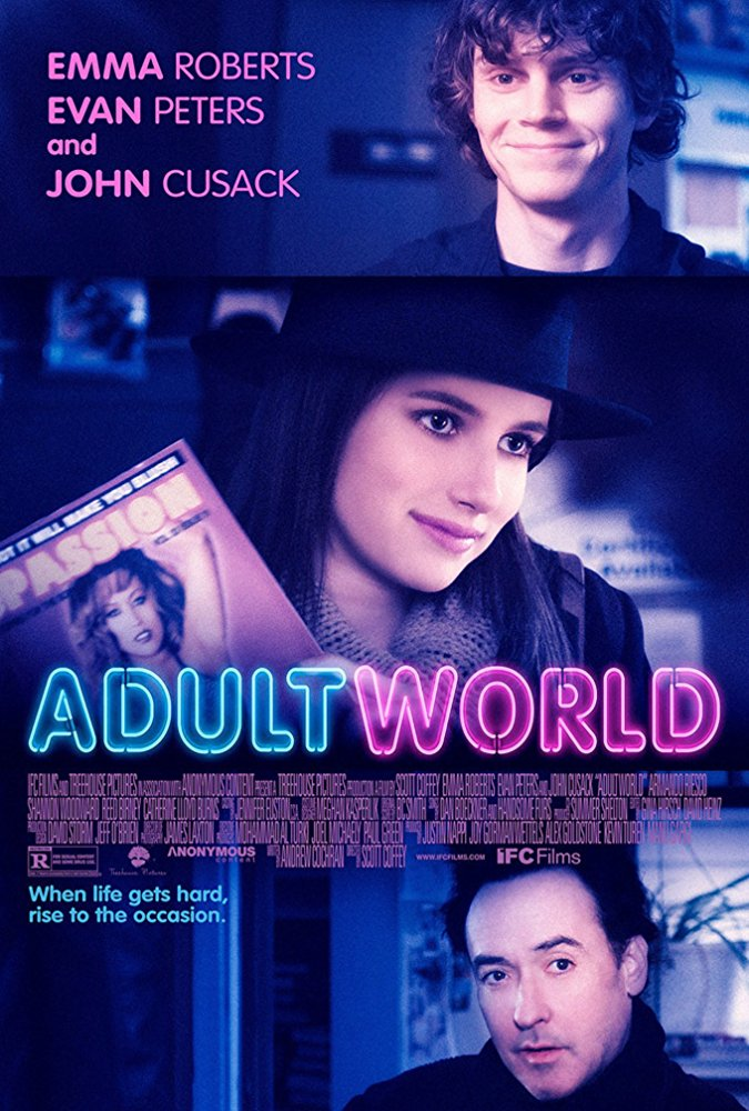 poster Adult World (2013)