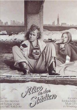 poster Alice in den Stadten - Alice in the Cities (1974)