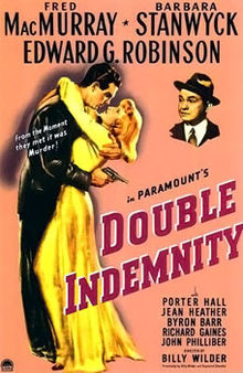 poster Double Indemnity (1944)