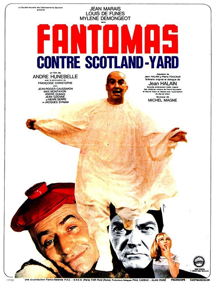 poster Fantomas contre Scotland Yard (1967)