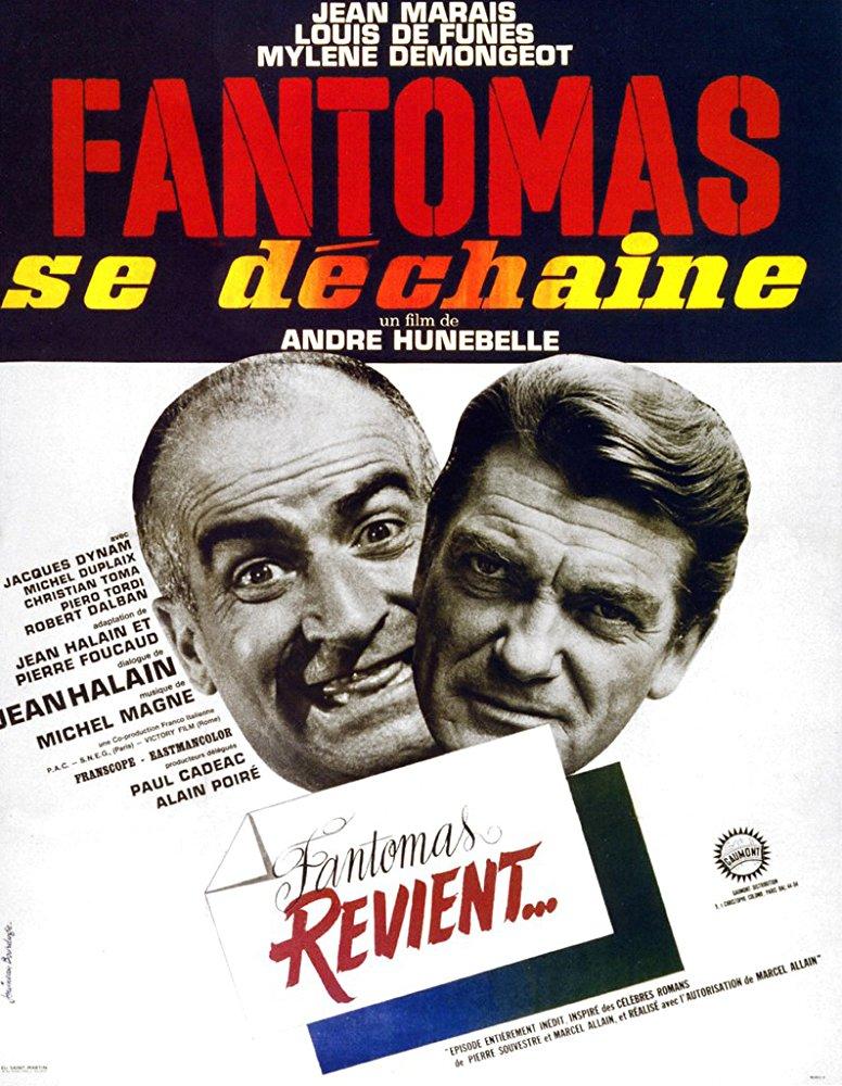 poster Fantomas se dechaine (1965)