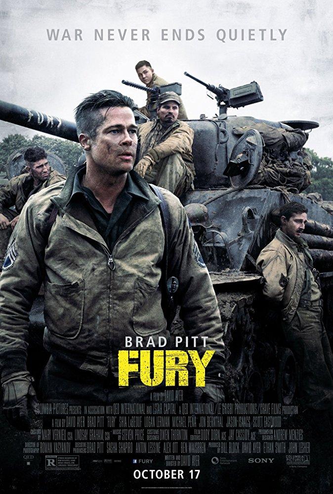poster Furia Eroi anonimi – Fury (2014)