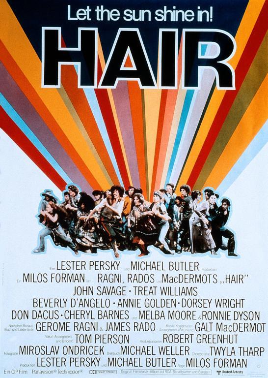 poster Hair (1979)