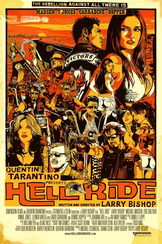 poster Hell Ride (2008)