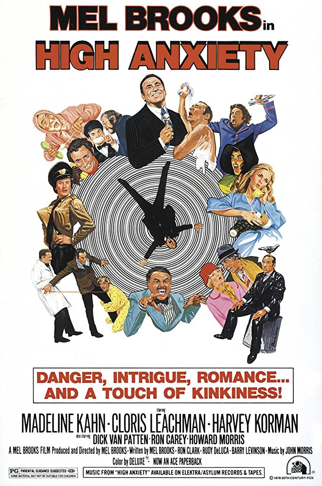 poster High Anxiety (1977)
