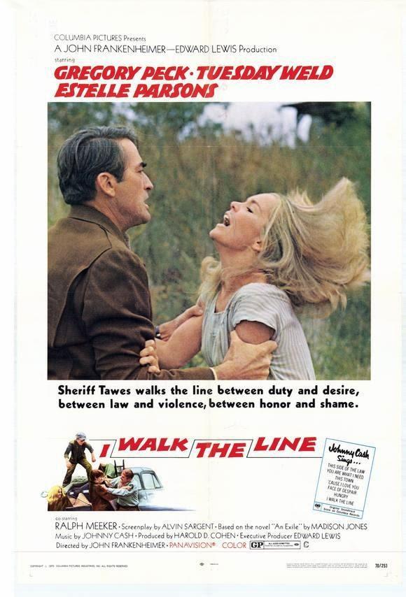 poster I Walk the Line (1970)