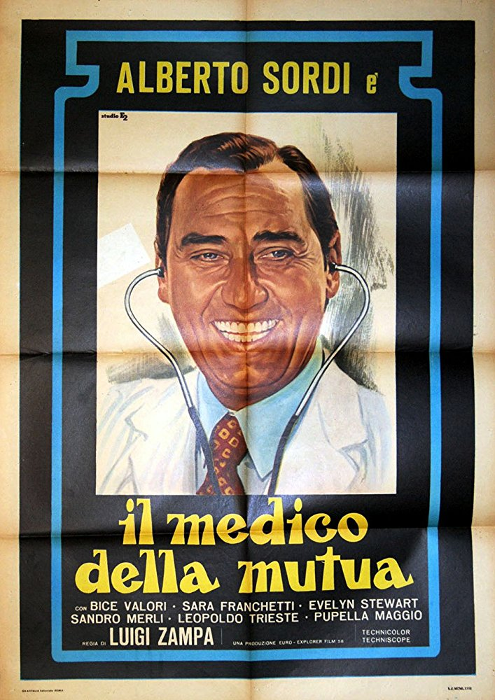 poster Il medico della mutua (1968)