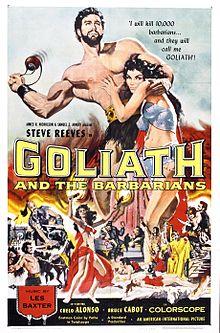 poster Il terrore dei barbari (1959)
