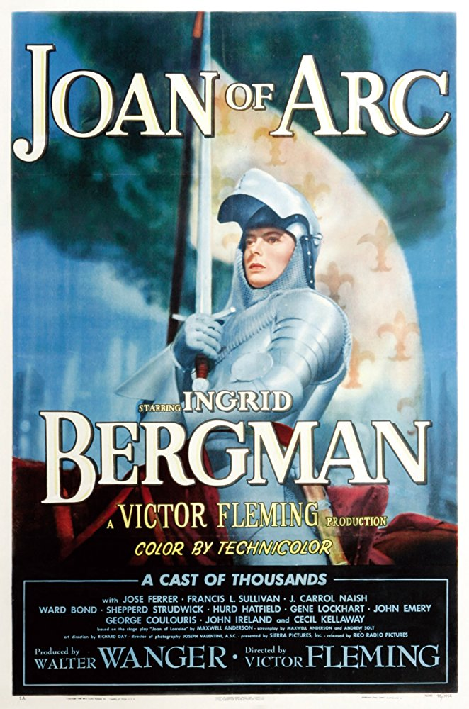 poster Joan of Arc (1948)