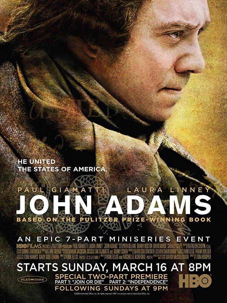 poster John Adams (2008)