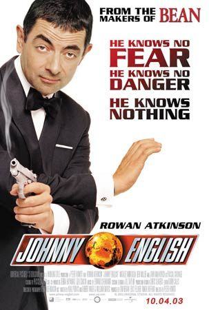 poster Johnny English (2003)