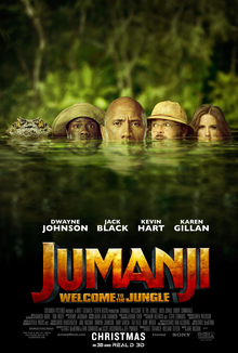 poster Jumanji Welcome to the Jungle (2017)