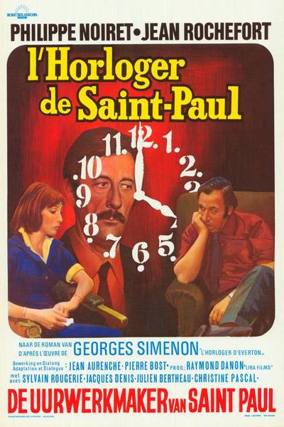 poster L Horloger de Saint-Paul (1974)