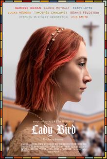 poster Lady Bird (2017)