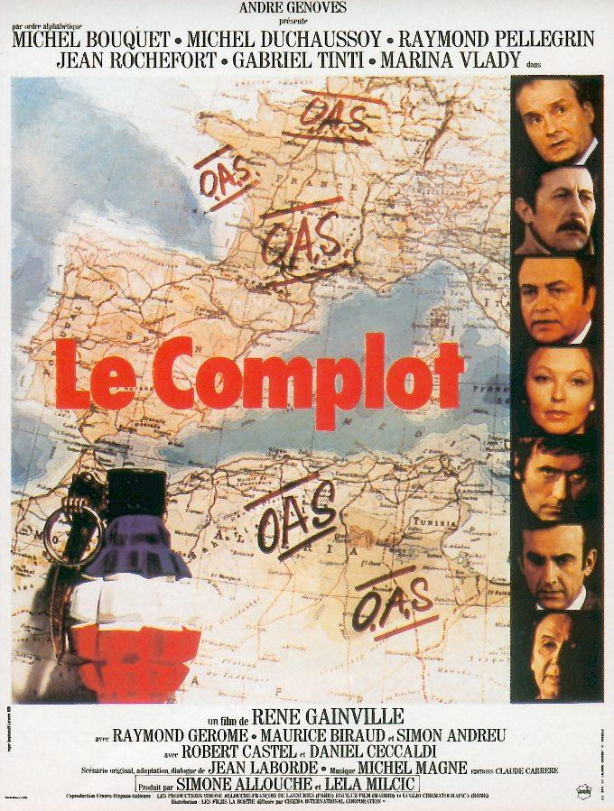 poster Le complot (1973)