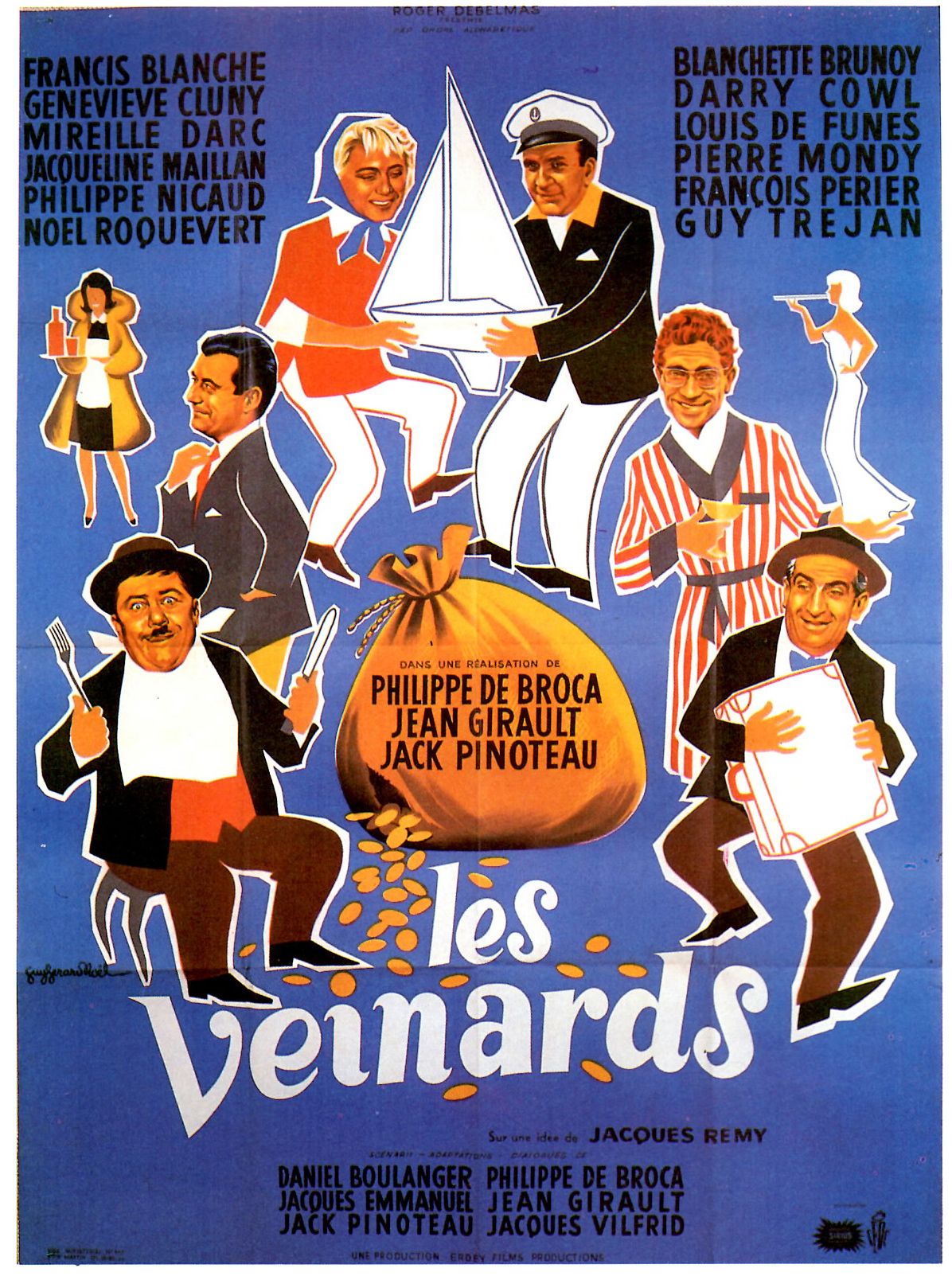 poster Les veinards (1963)