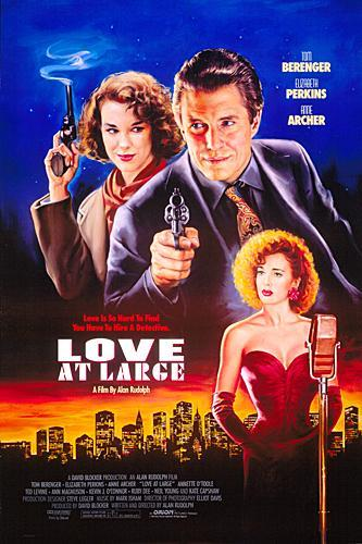 poster Love at Large (1990)