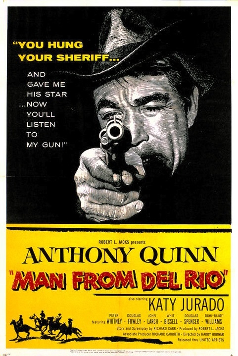 poster Man from Del Rio (1956)