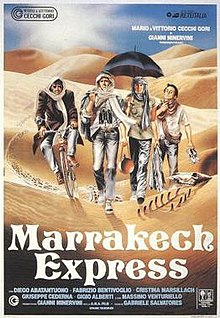 poster Marrakech Express (1989)