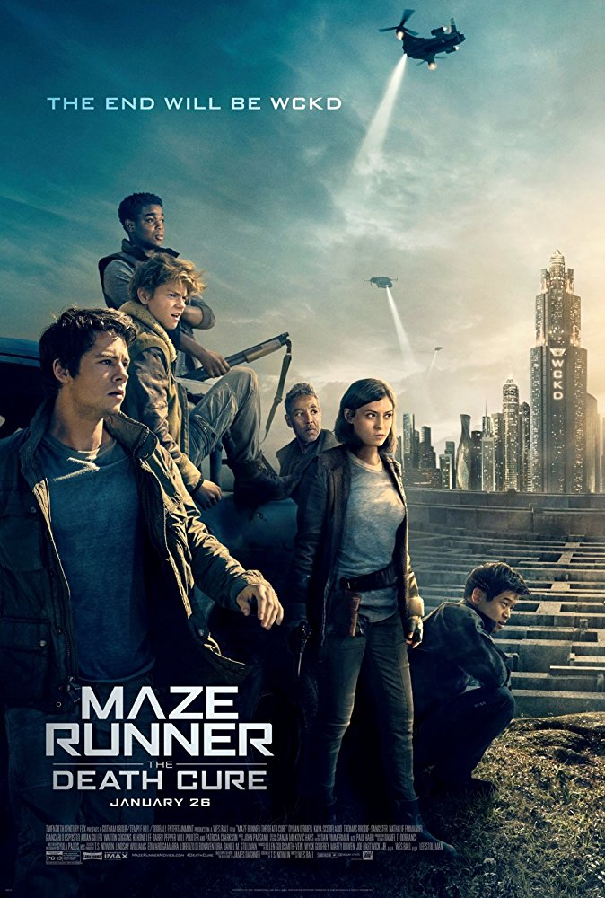 poster Maze Runner The Death Cure (2018)