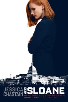 poster Miss Sloane (2016)