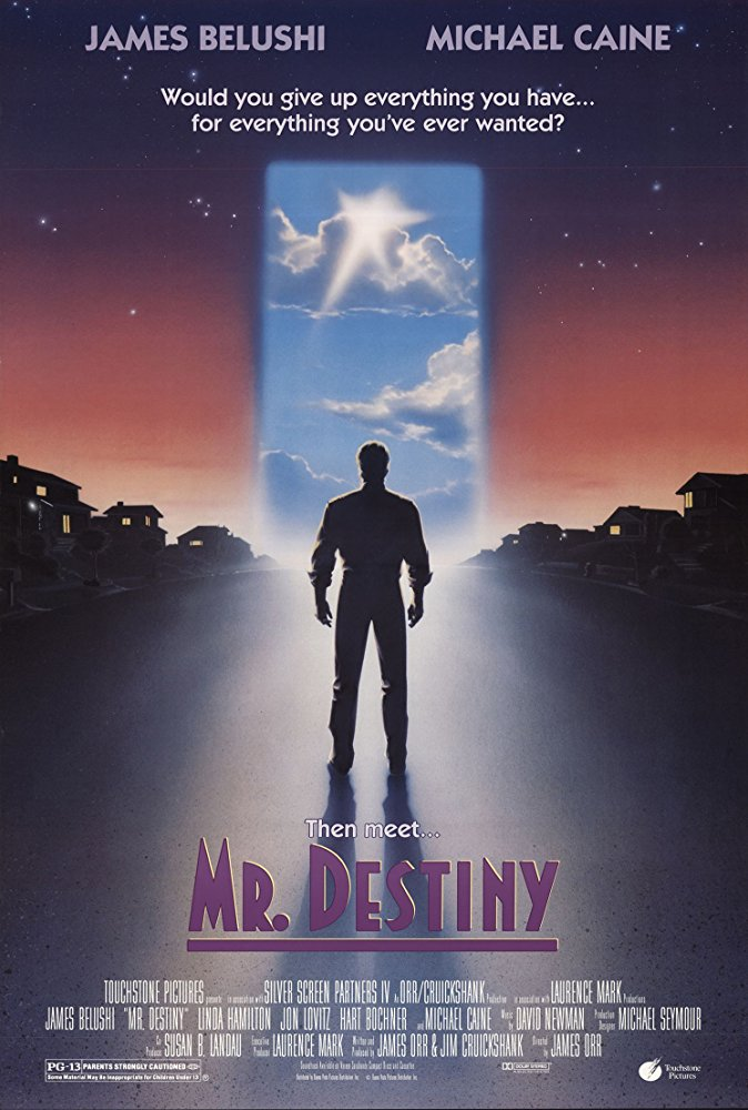 poster Mr. Destiny (1990)