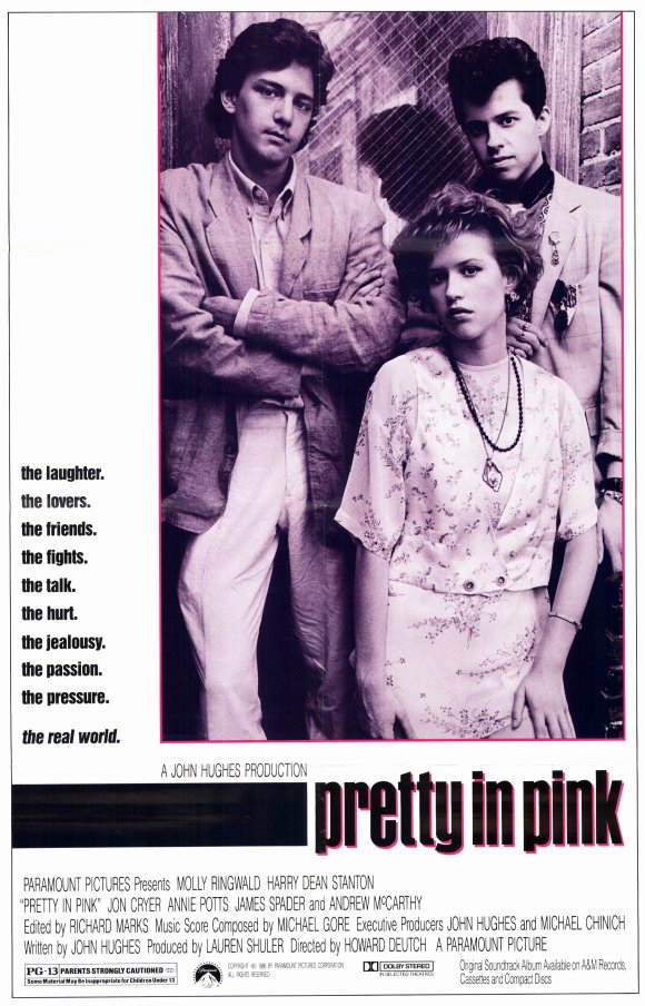 poster Pretty in Pink (1986)