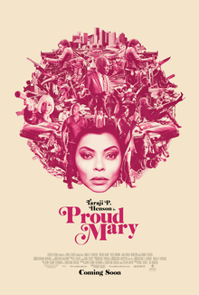 poster Proud Mary (2018)