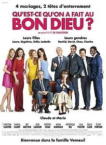 poster Qu'est-ce qu'on a fait au Bon Dieu (2014)