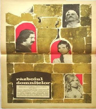 poster Războiul domnițelor (1970)