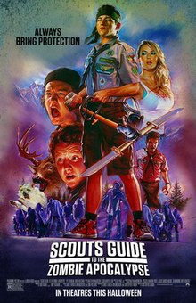poster Scouts Guide to the Zombie Apocalypse (2015)