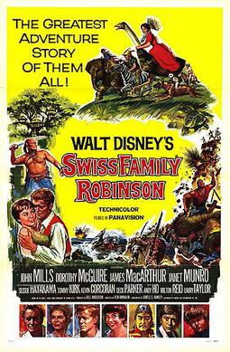 poster Swiss Family Robinson (1960)
