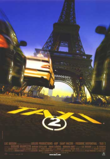 poster Taxi 2 (2000)