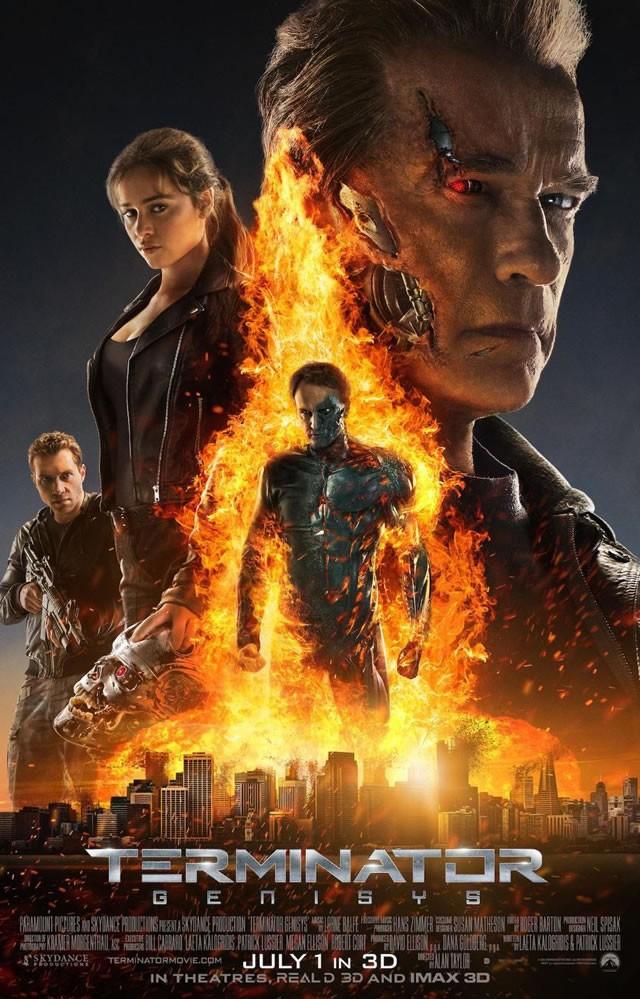 poster Terminator Genisys (2015)