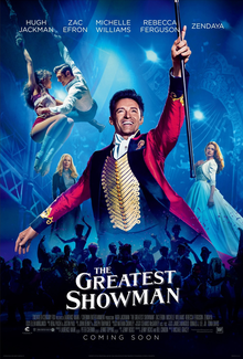 poster The Greatest Showman (2017)
