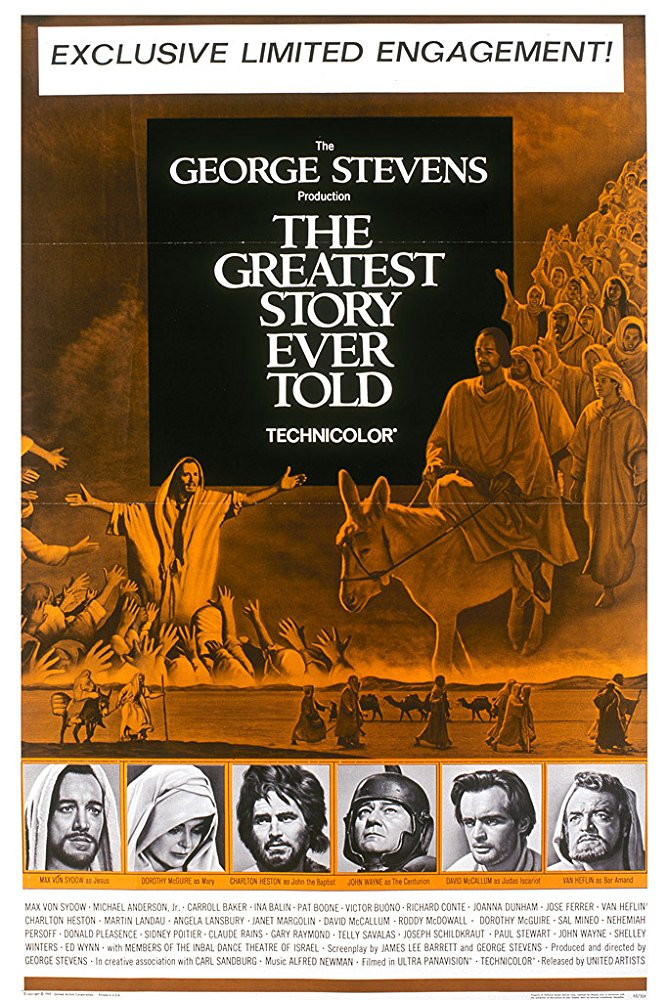 poster The Greatest Story Ever Told (1965)