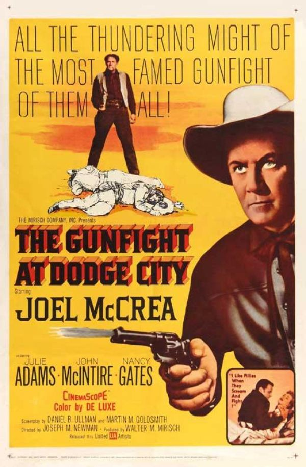 poster The Gunfight at Dodge City (1959)